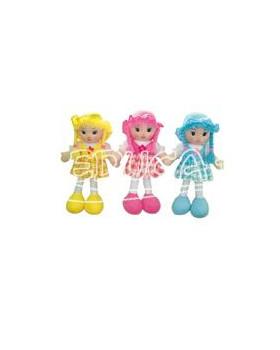 Textilná bábika - Dievča Hanka