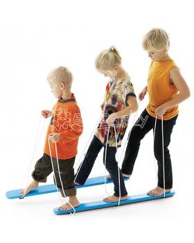 Letné lyže pre troch