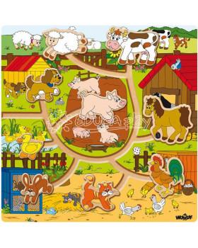 Labyrint so zvieratkami