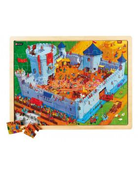 Puzzle Život na hrade