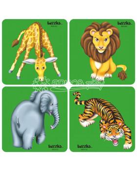 Sada puzzle - zvieratá z Afriky