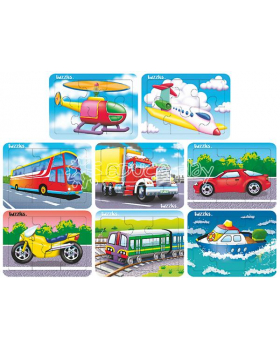 Maxi sada puzzle-Doprava