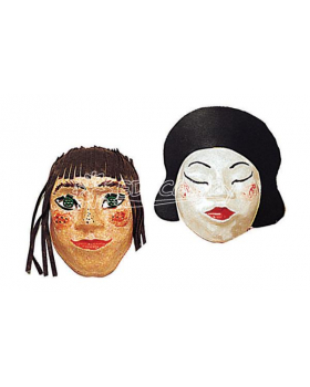 Plastiky ľudských tvári