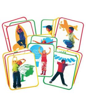 Karty na fyzickú aktivitu - joga