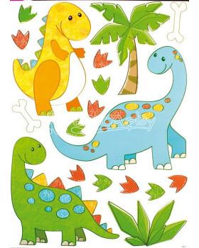 Nástenné nálepky - Dinosaury