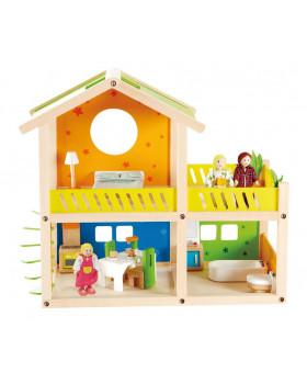 Poschodový dom pre bábiky