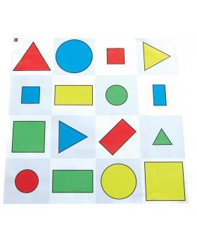 Podložka - Farby a tvary