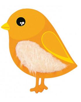 Senzorický vtáčik - žltý