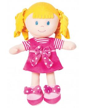 Mäkká bábika - dievčatko - výška 20 cm