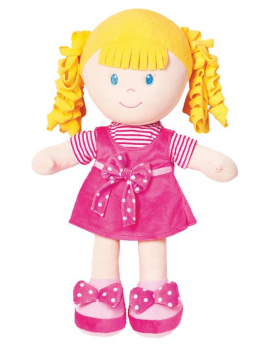 Mäkká bábika - dievčatko - výška 35 cm