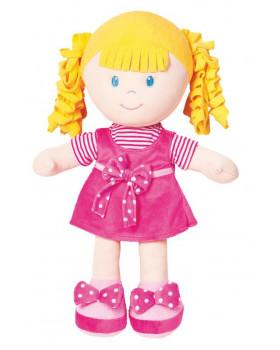 Mäkká bábika - dievčatko - výška 50 cm
