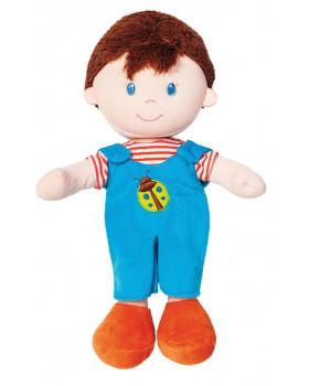 Mäkká bábika - chlapček - výška 20 cm