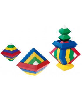 3D skladačka - Pyramída