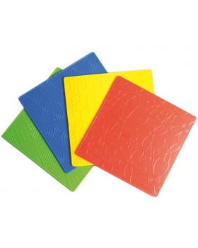 Prekresľovacie plastické podložky - tvary