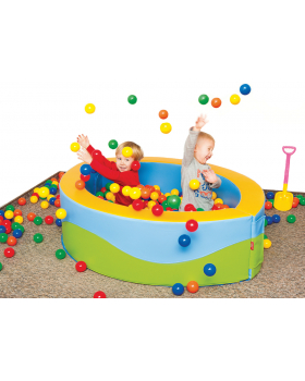 Bazén s loptičkami - Mandľa