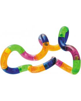 Terapeutický hadík-Priesvitný (Ø 3,6 cm, Dĺžka: 17 cm)