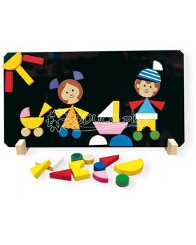 Magnetická skladačka Deti