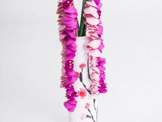 Čerešňové kvety vo váze