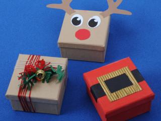 Vianočné škatuľky