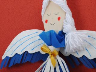 Vareškový modrý anjel