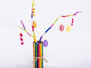 Veselé větvičky s vajíčky