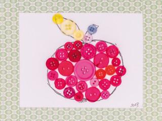 Knoflíkové jablíčko