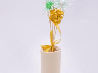 Květy z kuliček