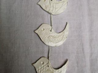 Drobnosti z hliny - vtáčik