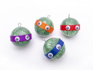 Ninja vánoční koule